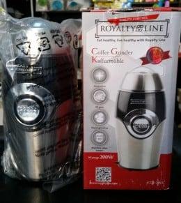 Macinator Royalty Line 200W pentru macinat cafea, zahar, sare, nuca, cereale