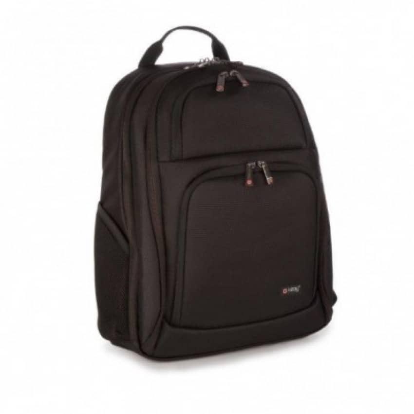"Rucsac laptop 15.6"" + tableta 12"" polyester negru, I-STAY Executive"