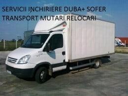 Transport orice oricand, mutari diverse sau inchiriere duba