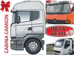 Cabine penru diferite modele de camioane