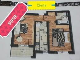 Oferta Apartament 2 camere, 52mp, Militari Carrefour Express
