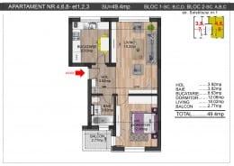 Apartament 2 camere la 10 min de metrou Dimitrie Leonida