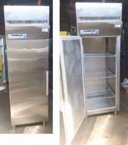 Congelator inox cu o usa, GRAM, second