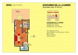 58 mp apartament 2 camere