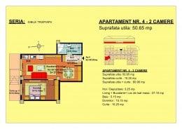 apartament 2 camere Tractorul