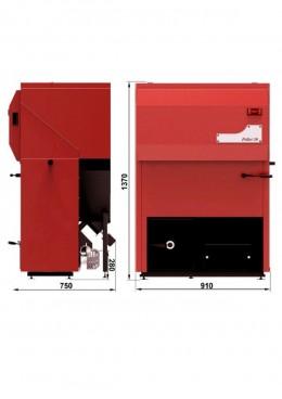 Centrale termice pe peleti 30 kW - Cazan pe peleti Pellet 30