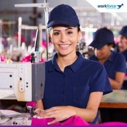 Workforce Angajeaza Operatori la Masina de Cusut in Anglia