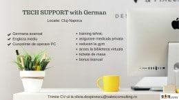 TEHNICAL SUPPORT CU GERMANA, Locatie: Cluj-Napoca