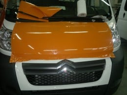 Colantari autoplatforma, autoutilitara cu prelata (cabina)