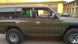 Colantari Autoturisme cu autocolant printat camuflaj