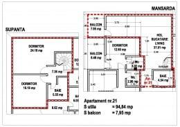 duplex Brasov cu scara interioara