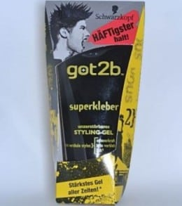 Gel de par :Schwarzkopf got2b, Glue Styling Gel, Ultra Glued Hair Gel 150 ml
