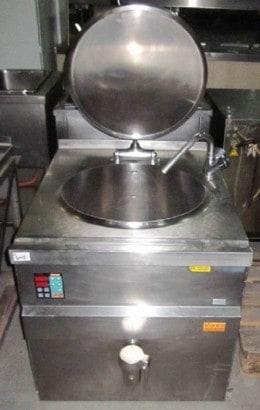 Marmita incalzire electrica 170 Litri second