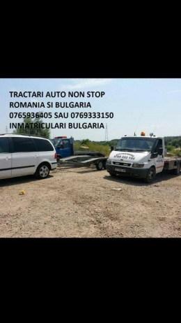 Tractari auto in bulgaria si Romania