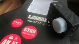 action cam SJCAM 5000X Elite+incarcator+2 acumulatori rezerva
