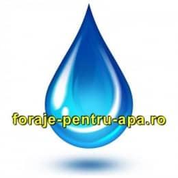 Foraje puturi pentru apa potabila