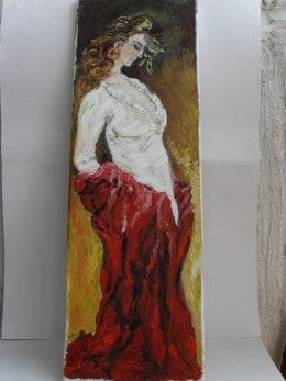 Ea 2-pictura ulei pe panza,Macedon Luiza