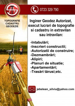 Topograf  Timis - Timisoara | Topografie si Cadastru