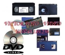 Copieri orice caseta pe dvd/bluray, conversie NTSC/PAL/SECAM
