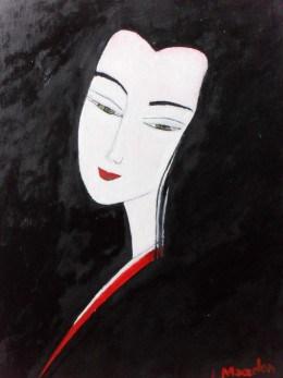 Ea 10-pictura ulei pe panza,Macedon Luiza
