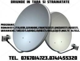 Antene satelit fara abonament- 0767014723