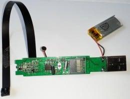 Inregistrator video digital - care poate fi încorporat în diferite obiecte