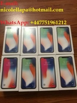 Apple iPhone X €430euro Samsung S9 Plus S9 €430euro Note 8 Whatsapp +447751961212