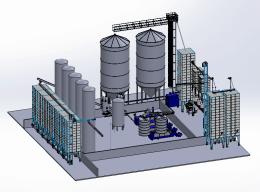 Proiectări 3D De Linii Tehnologice, Fabrici