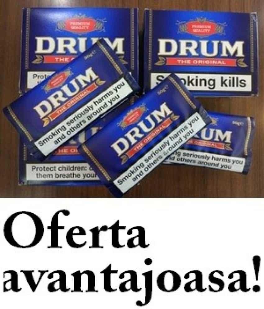 Tutun drum, samson, golden virginia