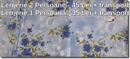 Lenjerii de Pat Ieftine - Noi pentru 1 și 2 persoane