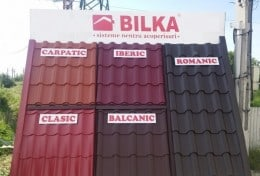 Comercializam tabla tip tigla Bilka cu livrare in 24 de ore oriunde in Romania