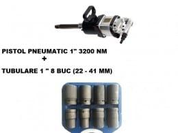 "PISTOL PNEUMATIC 1"" STAHLRHEIN - 3200 Nm + TR TUBULARE"