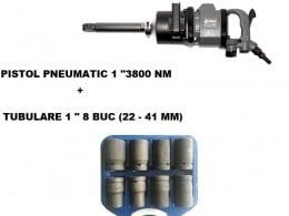"PISTOL PNEUMATIC 1"" STAHLRHEIN - 3800 Nm + TR TUBULARE"