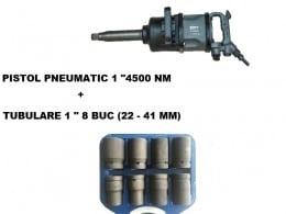 "PISTOL PNEUMATIC 1"" STAHLRHEIN - 4500 Nm + TR TUBULARE"