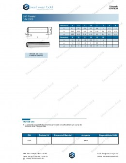 Stift Paralel DIN 6325