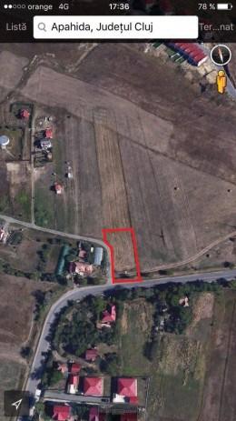 Vând Teren construcții intravilan Apahida-Cluj