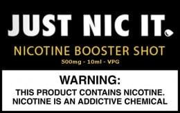 NicShot 500mg/ml nicotina baza VG PG Lichid Tigara Electronica 10ml