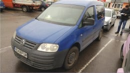 Lichidator judiciar, vand autoturism M1 Volkswagen, varianta Caddy