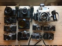 Cumpar aparate foto vechi