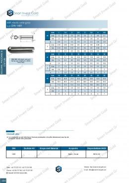 Stift elastic serie grea DIN 1481