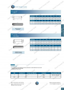 Stift paralel  DIN 7