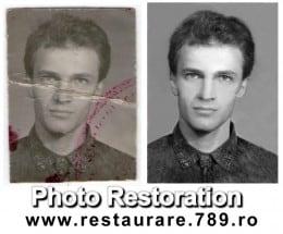 Fotografii vechi restaurare digitala