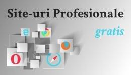 Construim site-uri de prezentare profesionale - gratuit