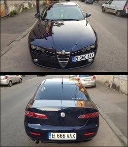 Alfa Romeo 159  1.9 JTDm 16v by GIUGIARO – DPF manuala 6+1 – interior bej - An 2007 - pret 3750 euro sau variante