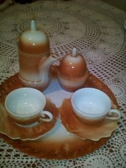 Set serviciu cafea 2 persoane