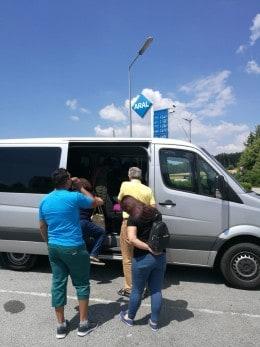 Servicii de transport persoane si colete in Belgia