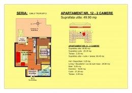 Vand apartament posibilitate rate-avans minim 5000E