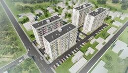 Vanzare apartament 3 cam, 70 mp, 65900 euro, rahova, confort urban