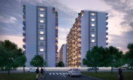 apartament spatios, 3 camere, confort urban/rahova, 74 mp, 65900€, finisat complet, bloc nou,
