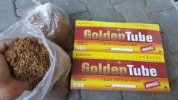 vand tutun vrac virginia si burley tratat tarie mediu. bonus 1100 tuburi la 1 kg. tutun bun!